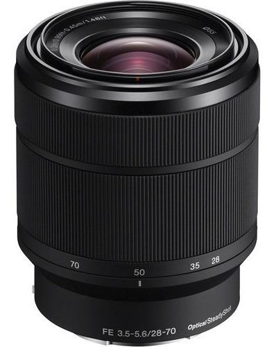 Lente Sony Fe 28-70mm F3.5-5.6 Oss - Sel2870 - Lj. Platinum