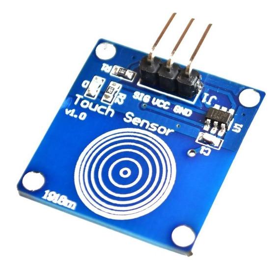 Sensor Botão Chave De Toque Capacitivo Touch Ttp223 Arduino