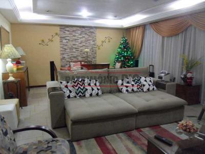 Magnifica Casa, Salão, 4quartos E 3vagas Em Ótima Localização, Junto Ao Carioca Shopping - Paca30365
