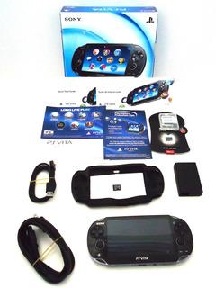¡¡¡ Ps Vita 36 Gb Con Juegos, Caja, Etc... Envío Gratis !!!