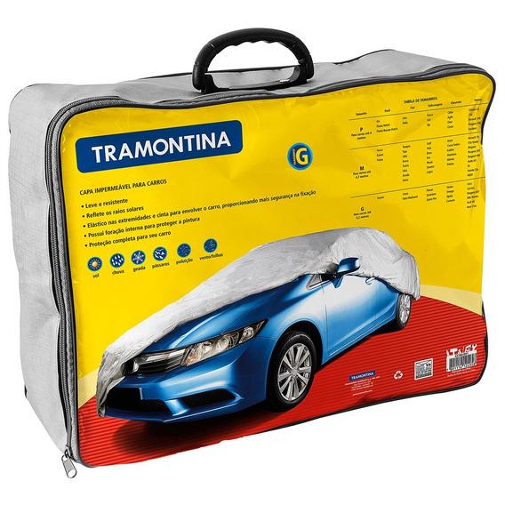 Capa Impermeável Tramontina Para Carros De 5.2 M 43780003