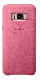Funda Original Alcantara Samsung S8 Plus S8 + Vidrio Curvo