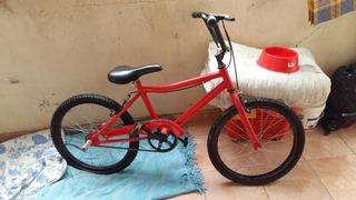 Bicicleta Rod 20 Muy Buen Estado 3 Usos