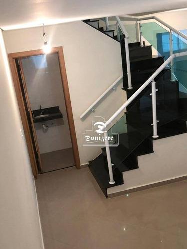 Sobrado Com 3 Dormitórios À Venda, 129 M² Por R$ 490.000 - Vila Lucinda - Santo André/sp - So2452