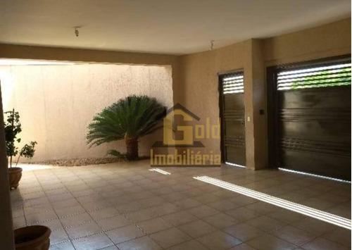 Casa Com 3 Dormitórios À Venda, 155 M² Por R$ 350.000,00 - Jardim Ouro Branco - Ribeirão Preto/sp - Ca1076