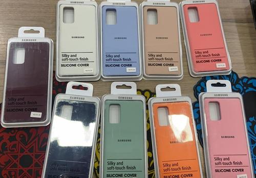 Fundas Silicon Case Original Samsung Note 20