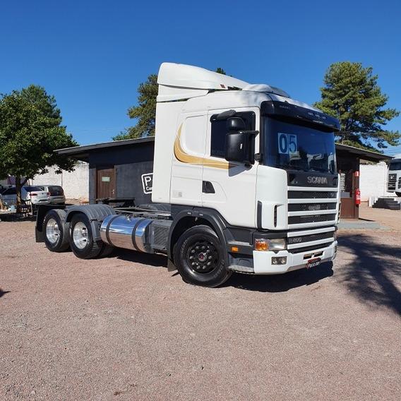 Caminhão Scania R400 2005 6x2 Cavalo Trucado Muito Original