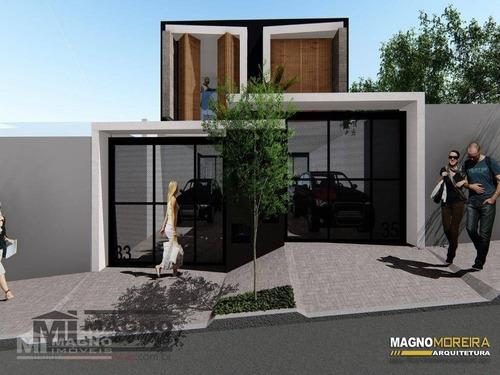 Sobrado Com 3 Dormitórios À Venda, 129 M² Por R$ 840.000,00 - Vila Oratório - São Paulo/sp - So0991
