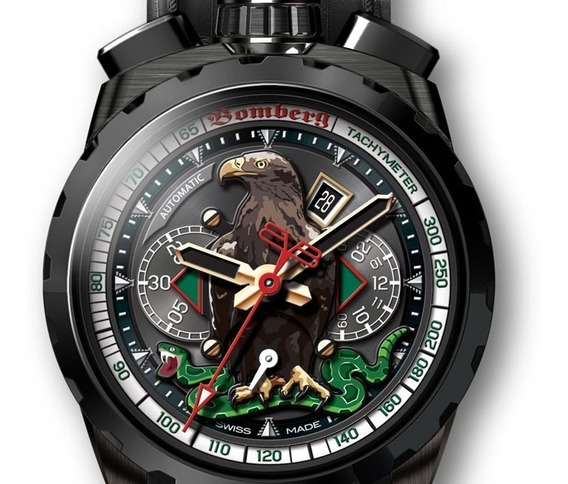 Reloj De Coleccion Solo 32 Fabricados Bomberg Mexican Eagle