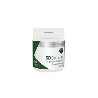 Spirulina Premium 90 Cápsulas - Five Diamonds