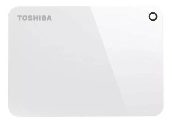 Disco rígido externo Toshiba Canvio Advance HDTC910X 1TB branco
