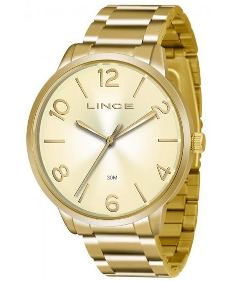 Relógio Feminino Lince Casual Lrgj045lc2kx