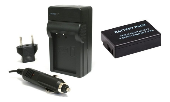Kit 1 Bateria + Carregador Para Eos Rebel T6i T6s Sl2