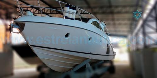 Lancha Phantom 40 Ht Barco Iate N Ferreti Azimut Intermarine
