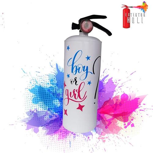 Extintor De Colores - Polvos Holi
