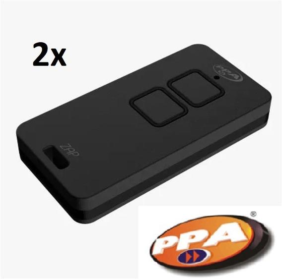 Kit 2 Controle Remoto Ppa Zap Rolling Code 433mhz Lançamento