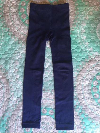 Leggings Azul Marino De Niña Talla 4-6