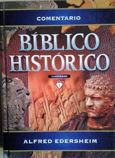 Libro Comentario Bíblico Histórico Ilustrado Alfred Edershei