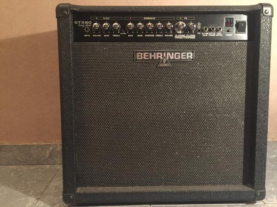 Amplificador Behringer Gtx60 60w C/ Footswitch