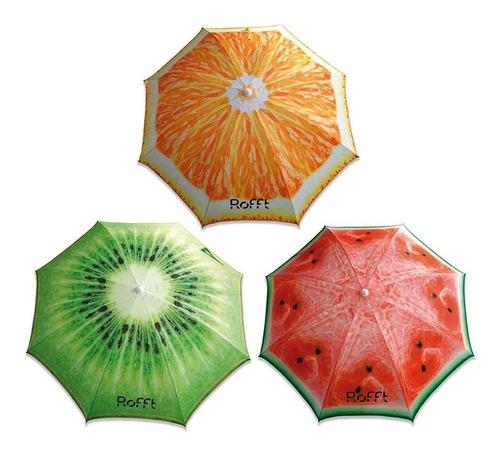 Imagen 1 de 10 de Sombrillas Playa Jardin Pileta Diseños Frutales Originales