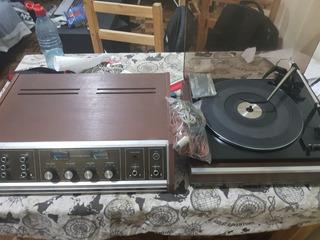 Sistema De Audio Bgh, Tocadisco Amplificador Y Parlantes