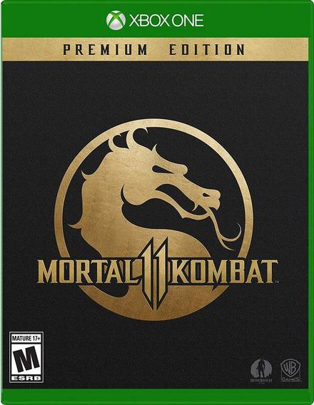 Mortal Kombat 11 Premium + Brinde Qualquer Jogo Xone Digital