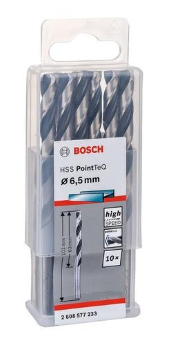Broca Para Metal Hss 6,5 X 101 Mm 10 Peças 2608577233 Bosch