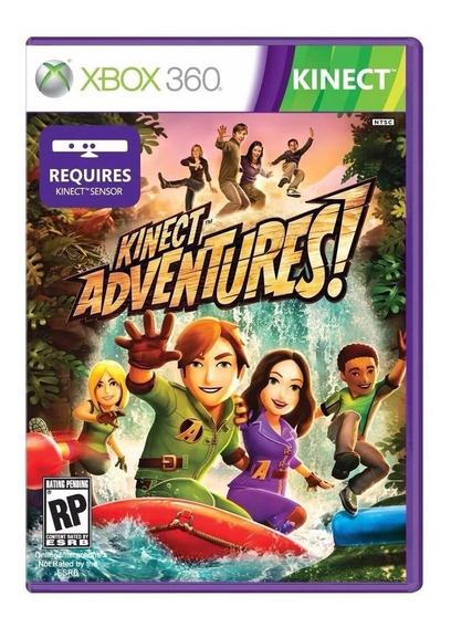 Game Xbox 360 Kinect Adventures Original Novo Vai No Estojo