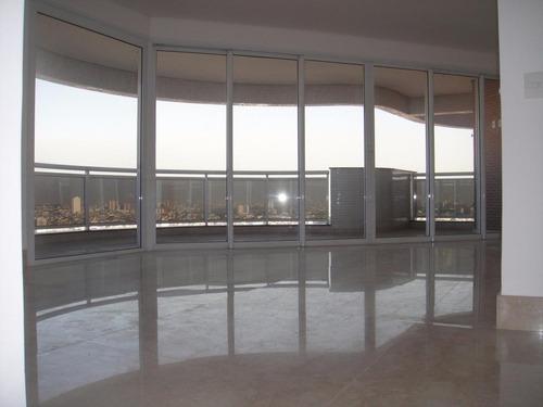 Imagem 1 de 26 de Apartamento Duplex Com 4 Dormitórios À Venda, 332 M² Por R$ 4.400.000,00 - Jardim Anália Franco - São Paulo/sp - Ad0010
