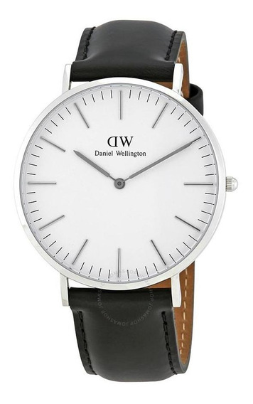 Daniel Wellington Classic Sheffield Plateado Blanco 40mm