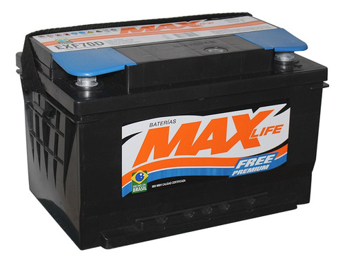 Bateria Max Chevrolet Captiva 70/120 27x17x17 Der