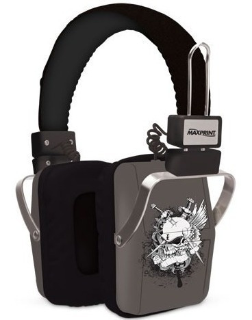 Fone Ouvido P2 Gamer Original Caveira Preto Serve Samsung Lg