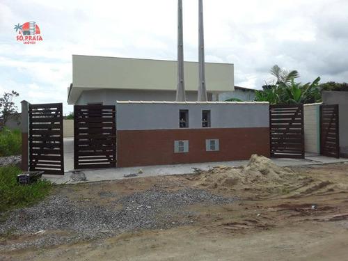 Casa Com 1 Dormitório À Venda, 40 M² Por R$ 155.000 - Nova Itanhaém - Interior - Itanhaém/sp - Ca5307