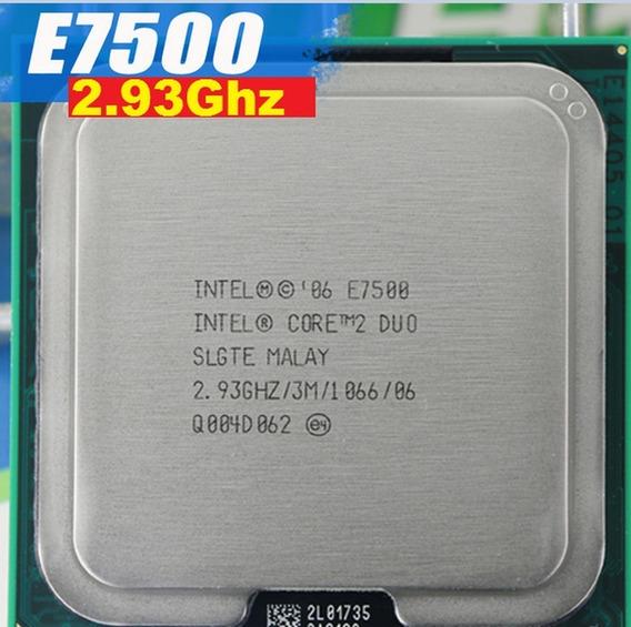 Processador Intel Core 2 Duo E7500 2.93ghz Lga 775