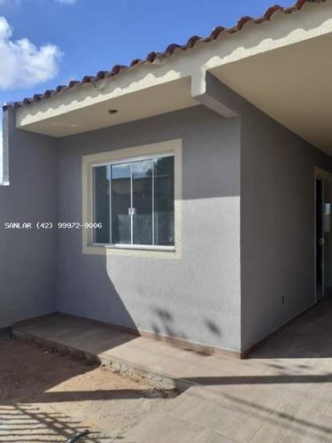 Casa Para Venda Em Ponta Grossa, Ronda, 3 Dormitórios, 1 Banheiro, 1 Vaga - _1-1873623