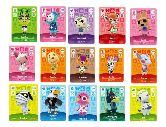 Villagers Animal Crossing Nh Nas Caixas - Vários