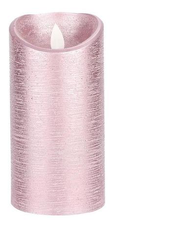 Imagen 1 de 9 de Led Sin Llama Velas De La Batería De Oro Rosa Oscilante De