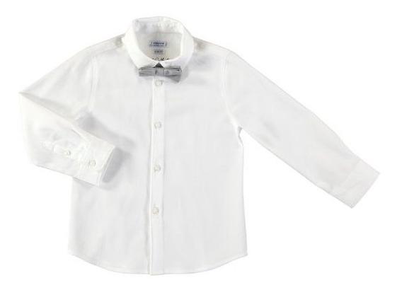 Camisa Manga Larga Blanca, Mayoral