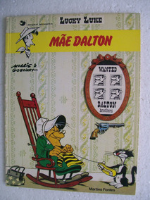 Lucky Luke - Mãe Dalton - Editora Martins Fontes - 1984