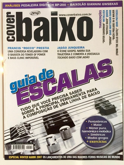 Revista Cover Baixo - Ed 54 - Mar/2007 - Guia De Escalas