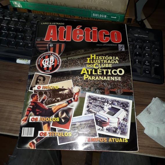 Álbum Livro Ilustrada Do Clube Atlético Paranaense