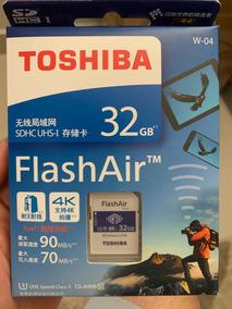 Cartão Memória Toshiba Flashair 32gb