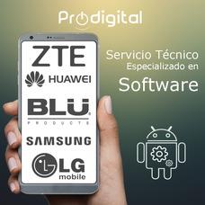 Servicio Técnico En Software Blu Lg Samsung Huawei Zte Otros