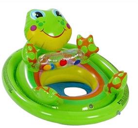 Boia Infantil Para Criança Animal Rã - Intex - Piscina