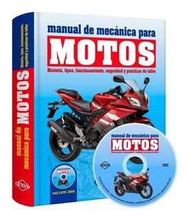 Manual De Mecánica Para Motos Motocicletas 1 Tomo 1 Dvd
