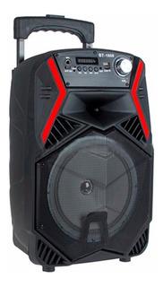 Parlante Portati Karaoke Bluetooth Usb + Luz + Microfono