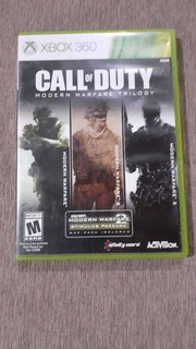 Call Of Duty: Modern Warfare Trilogy: 1,2 Y 3. Xbox 360