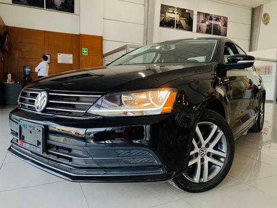 Volkswagen Jetta Trendline Motor 2.5 2017 Negro 4 Puertas