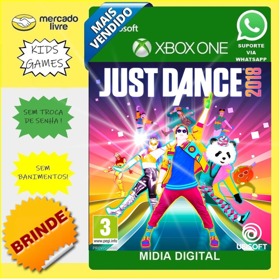 Just Dance 2018 Xbox One Digital + Brinde