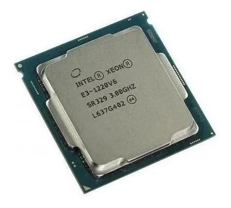 Processador Intel Xeon E3-1220v6 Lga 1151 Quad Core 3.00ghz